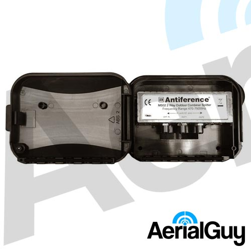 AerialGuy - Antiference 2 Way Masthead Splitter
